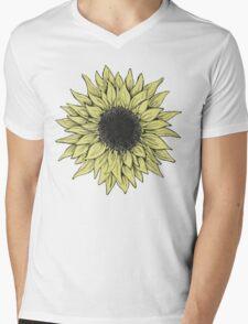 Sunflower Daze Mens V-Neck T-Shirt