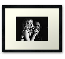 Sometimes it is all about the passion in the song Framed Print