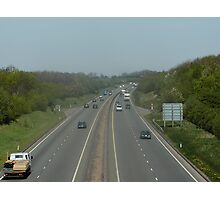 Convoy to the East and Convoy to the West Photographic Print