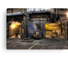 Welding stations Canvas Print