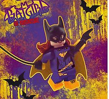LEGO Batgirl of Burnside by Ryan Rydalch