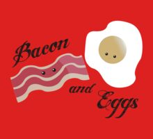 Bacon and Eggs Kids Clothes