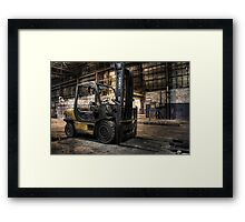 Fork off duty Framed Print