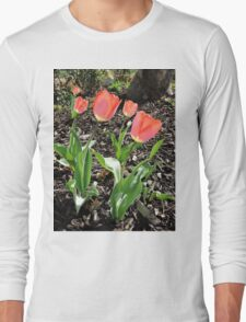 5 Tulips Long Sleeve T-Shirt