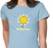 Be Happy Project Womens Fitted T-Shirt