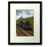 Arriving Framed Print