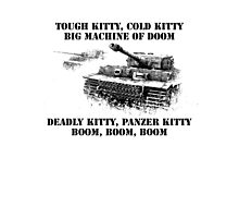 Tiger tank lullaby Photographic Print