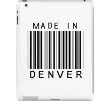 Made in Denver iPad Case/Skin