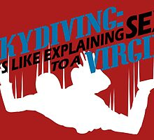 SKYDIVING:IT'S LIKE EXPLAINING SEX TO A VIRGIN by fancytees