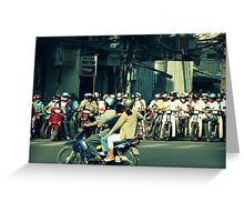 Crossing The Street Greeting Card