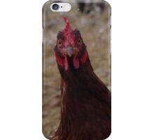 Surprised Chicken! iPhone Case/Skin