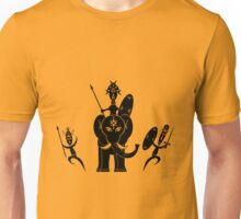African Warriors Attack Unisex T-Shirt