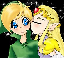 Zelda's Kiss by LARiozzi