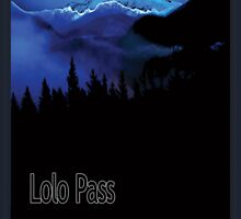 Lolo Pass Art Print by Randall Paul
