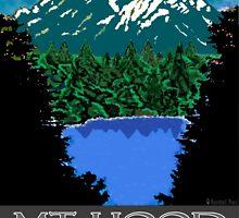 Lost Lake Mt Hood by Randall Paul