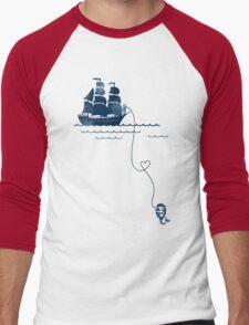 Long Distance Love Men's Baseball ¾ T-Shirt