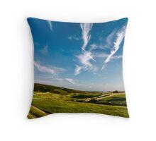 Dales sky Throw Pillow