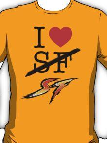 I <3 SF (Street Fighter) T-Shirt