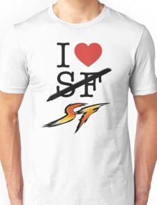 I <3 SF (Street Fighter) Unisex T-Shirt