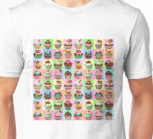 Cupcake Pattern Unisex T-Shirt