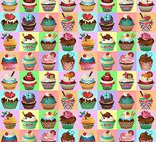 Cupcake Pattern by kennasato