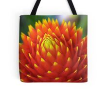 Red Sun Flower, Puerto Rico Tote Bag