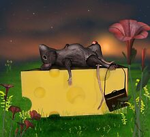 Cheese is heavy! by Dawnsky2