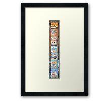 Totem Pole Framed Print