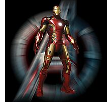 IRONMAN - about to move Photographic Print
