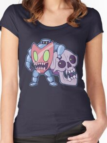 Guts n' Skull Women's Fitted Scoop T-Shirt
