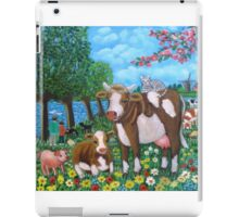 Cows in Holland. iPad Case/Skin