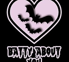 Batty About You by captivelark
