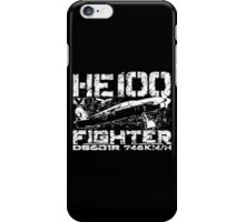 Heinkel He 100 iPhone Case/Skin
