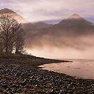Misty Morning on Loch Duich, Scotland by OpalFire