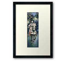 """Shining Armor"" Watercolor Framed Print"