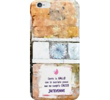 Laureana Cilento: doorjamb iPhone Case/Skin