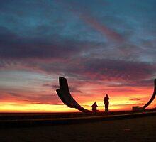 Sunset III by Dan Cash