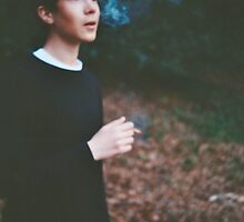 conor smoking by Benjamin Haywood