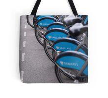 Boris Bikes Tote Bag