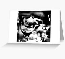 In black and white world... Greeting Card