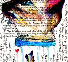 Siamese Cat Watercolor Journal by shaunarae