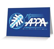Fly Appa Greeting Card