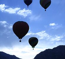Hot Air Ballons at Dawn by rampaige944