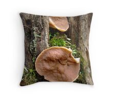 eaves dropping Throw Pillow