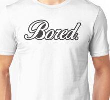 BORED. Logo Unisex T-Shirt