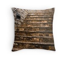 Lyme Regis Steps Throw Pillow
