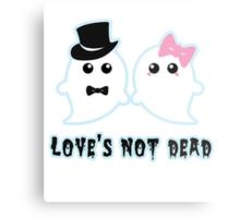 Love's Not Dead Metal Print