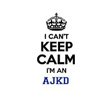 , can't, keep, calm, expression, lifestyle, name Photographic Print