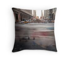 rushing home Throw Pillow