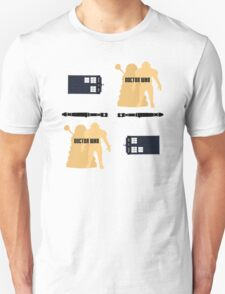 Doctor Who Pattern 1 Unisex T-Shirt